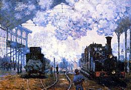Züge und Bahnhöfe
