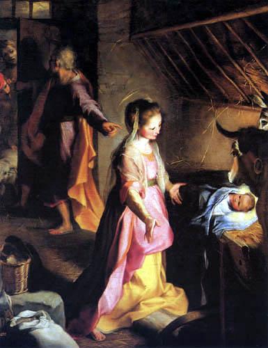 Federigo Barocci - Nacimiento de Jesús