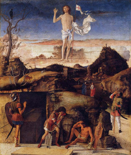 Giovanni Bellini (Giambellino) - La résurrection du Christ
