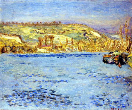 Pierre Bonnard - El Sena en Vernonnet
