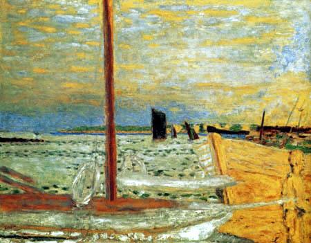 Pierre Bonnard - El barco amarillo