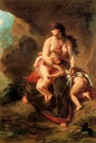 Eugene Delacroix - Medea