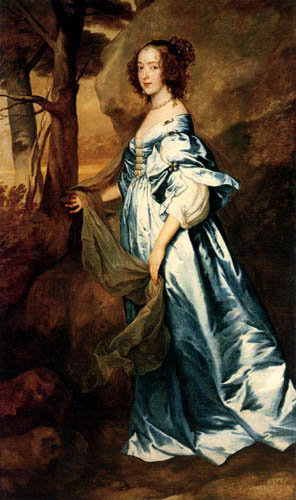 Sir  Anthonis van Dyck - The Countess of Clanbrassil