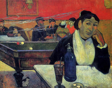Paul Gauguin - Café