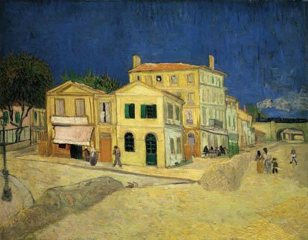 Vincent van Gogh - La casa amarilla en Árles