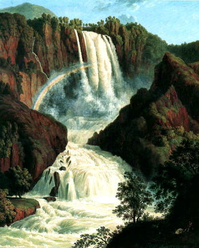 Jacob Philipp Hackert - Waterfalls of  Terni