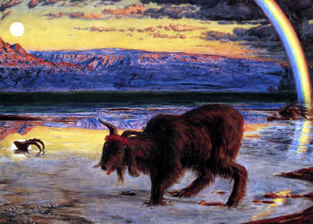 William Holman Hunt - Der Sündenbock