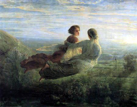 Louis Janmot - La Poema del alma, El Vuelo de la alma