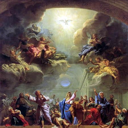 Resultado de imagen de pentecostes pinturas