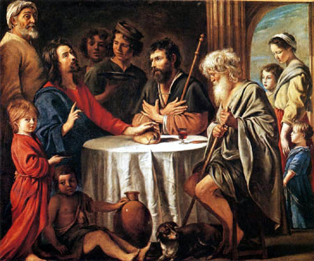 Lois le Nain - Supper at Emmaus