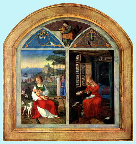 Franz Pforr - Sulamith et Maria