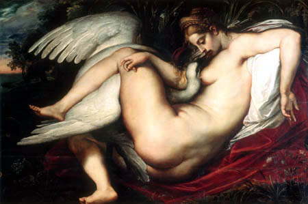 Peter Paul Rubens - Leda with swan