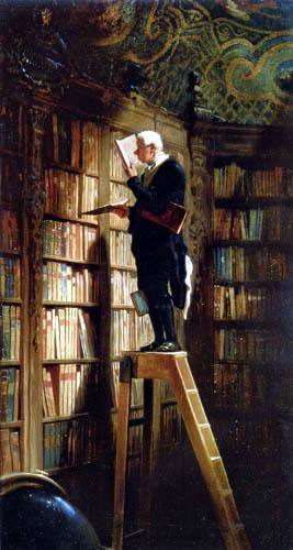 Carl Spitzweg - Ratón de Biblioteca
