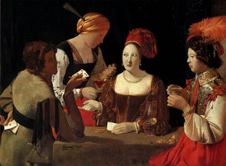 Georges de la Tour - El Tahúr con el As de Diamantes