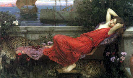 John William Waterhouse - Ariadna
