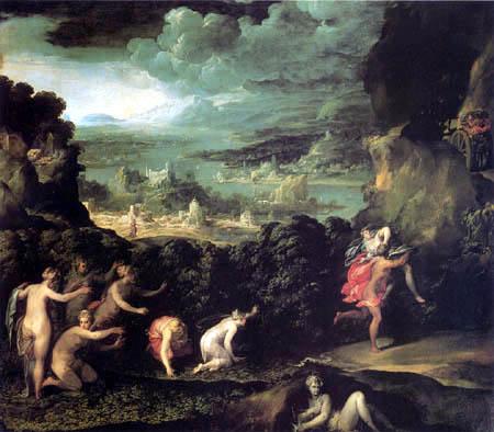 Niccolò dell´ Abbate - Rape of Proserpina