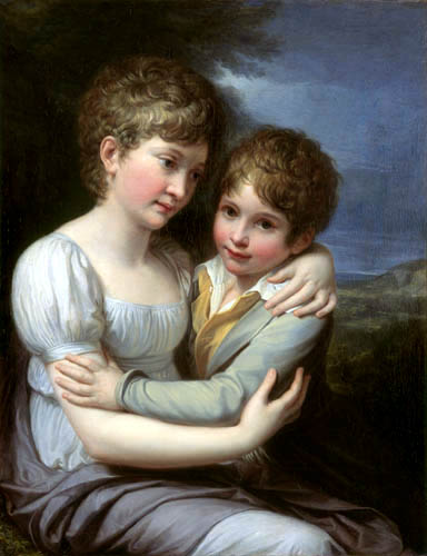 Andrea Appiani  - The children of the painter