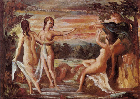 Paul Cézanne (Cezanne) - The Judgement of Paris