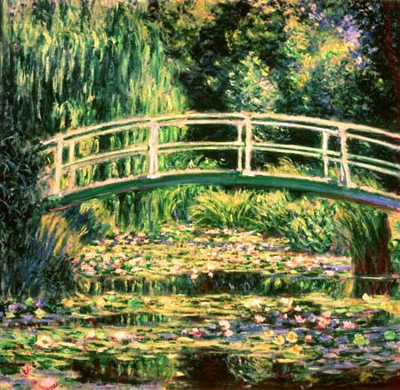 Le bassin aux nymphéas, par Claude Monet