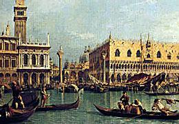 Peinture de vénitien / Védutisme