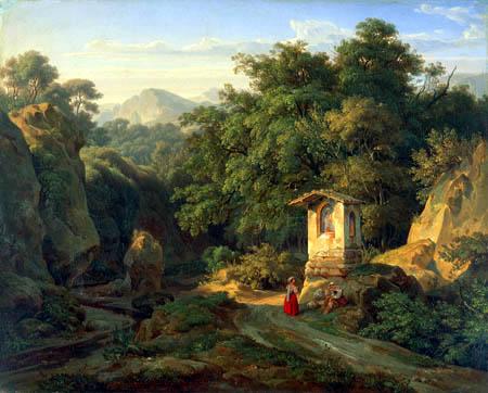 Ernst Fries - Italian Landscape