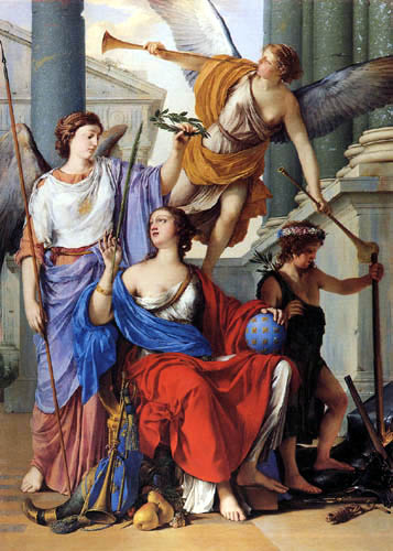 Laurent de La Hyre - Allegory of the Regency of Anne of Austria