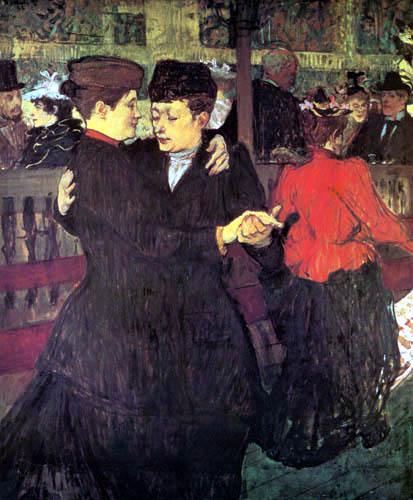 Henri de Toulouse-Lautrec - In 'Moulin Rouge'