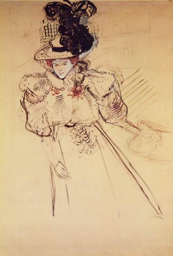 Henri de Toulouse-Lautrec - Misia Natanson