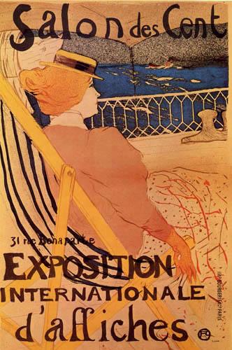 Henri de Toulouse-Lautrec - Ausstellungsplakat Nr. 54