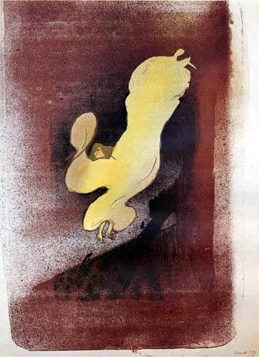 Henri de Toulouse-Lautrec - Miss Loie Fuller