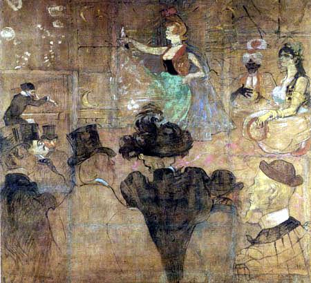 Henri de Toulouse-Lautrec - Maurischer Tanz, Die orientalischen Tänzerinnen