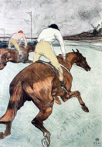 Henri de Toulouse-Lautrec - Il fantino