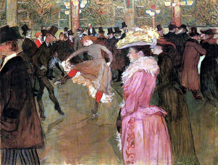 Henri de Toulouse-Lautrec - In 'Moulin Rouge'