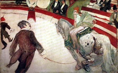 Henri de Toulouse-Lautrec - Circus Fernando