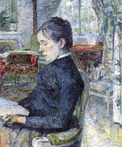 Henri de Toulouse-Lautrec - Comtesse A. de Toulouse - Lautrec
