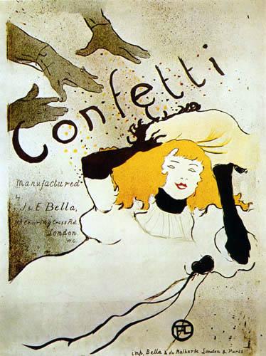 Henri de Toulouse-Lautrec - Confetti