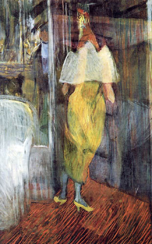 Henri de Toulouse-Lautrec - Dame im Abendkleid