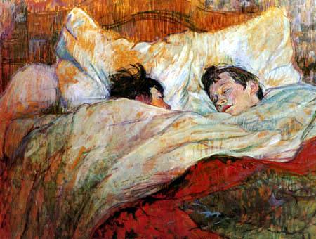 Henri de Toulouse-Lautrec - The bed