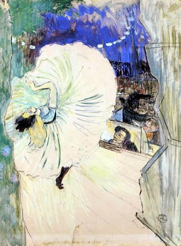 Henri de Toulouse-Lautrec - The Wheel