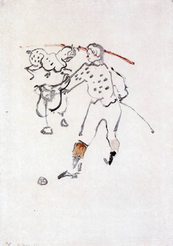 Henri de Toulouse-Lautrec - Clown