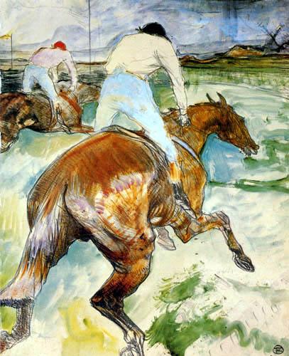 Henri de Toulouse-Lautrec - Der Jockey