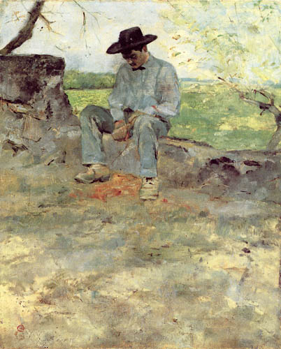 Henri de Toulouse-Lautrec - The young Routy in Céleyran