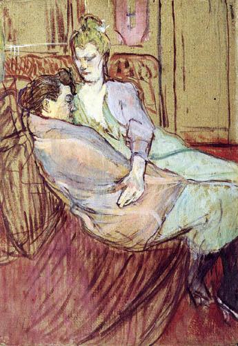 Henri de Toulouse-Lautrec - The two Friends