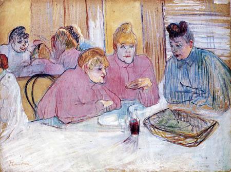 Henri de Toulouse-Lautrec - The ladies in the refectory