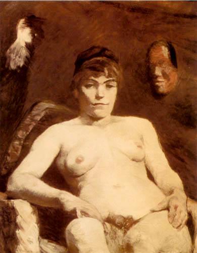 Henri de Toulouse-Lautrec - Thickish Marie