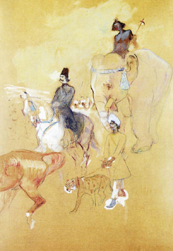 Henri de Toulouse-Lautrec - The Beautiful and the beast