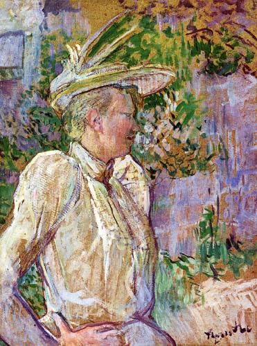 Henri de Toulouse-Lautrec - The dancer Gabrielle
