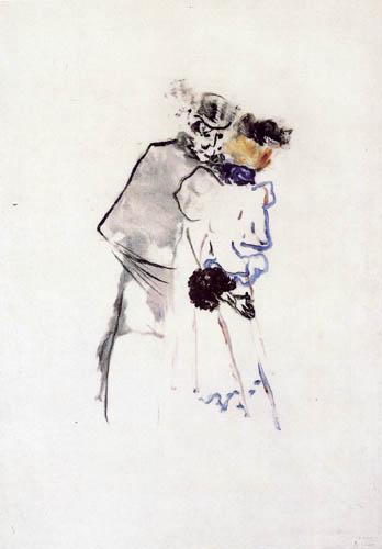 Henri de Toulouse-Lautrec - Conversation