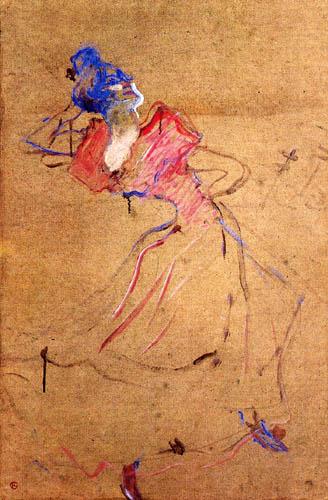 Henri de Toulouse-Lautrec - Die Zigeunerin