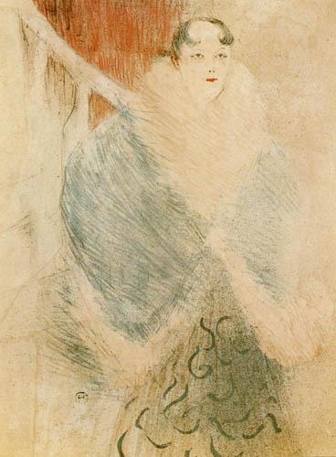 Henri de Toulouse-Lautrec - Elsa